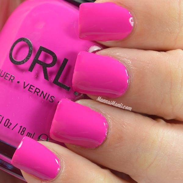Orly Adrenaline Rush Risky Behavior swatches