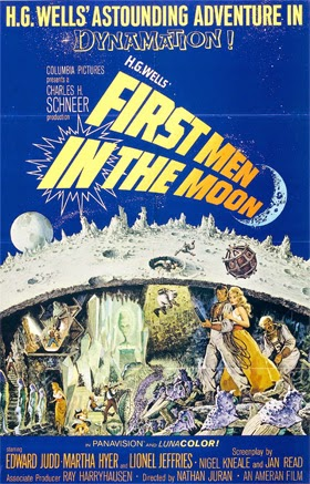 Poster - First Men in the Moon (1964)