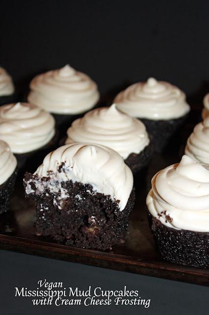 mississippi mud cupcakes