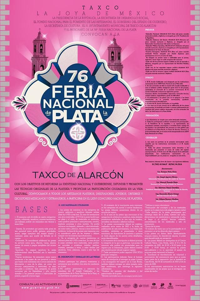 premio de plata taxco 2013