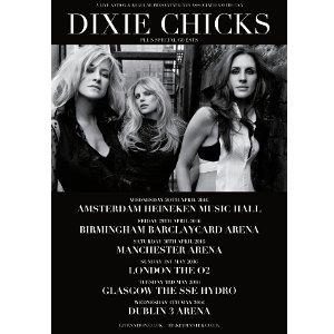 Dixie Chicks Tour Europe