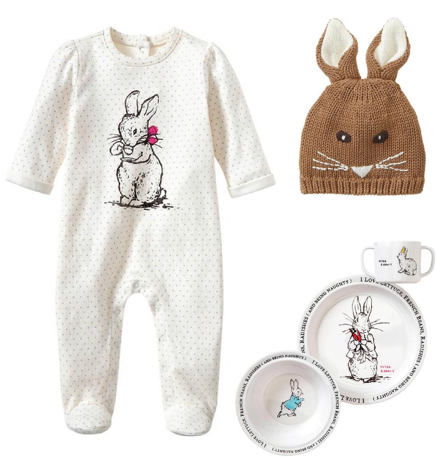 coos & ahhs Fashion Coos Peter Rabbit Collection at the Gap