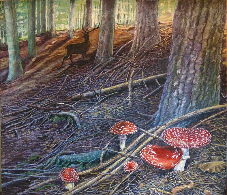 Alessandro sacchetti wildlife painter