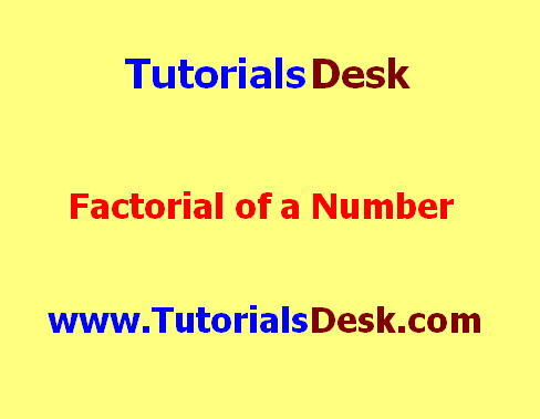 Factorial of a number in Java