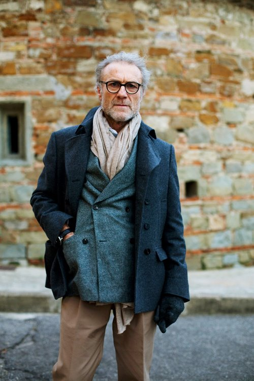 Grey Fox Cool And Rumpled Is The Way To Go Middle Age Style For Men