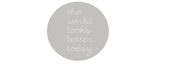 The world looks better today