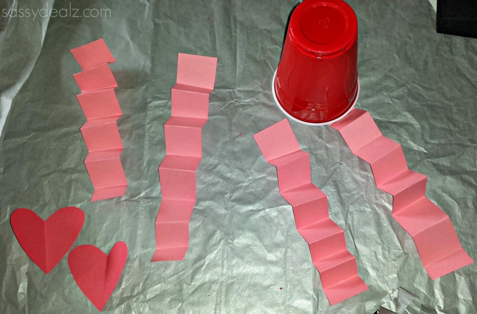 valentines day craft for kids hearts