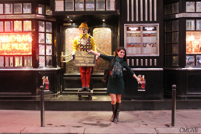 diana dazzling, fashion blogger, fashion blog,  cmgvb, como me gusta vivir bien, dazzling, thanksgiving, Paris, The American Dream, restaurant, outfit, louis vuitton, knitwear dress