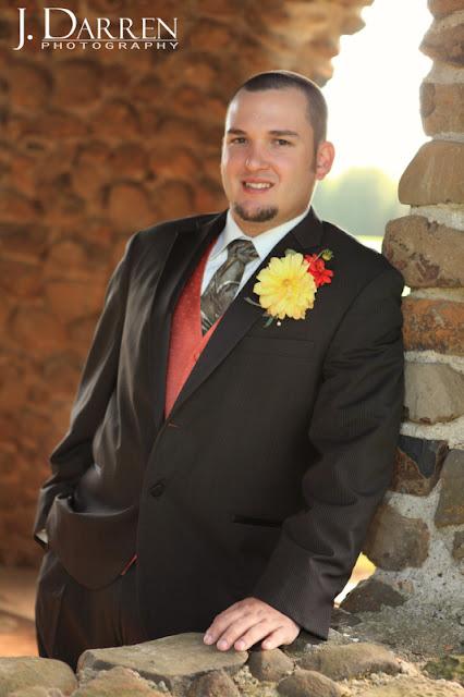 photo of the groom at a Bermuda Run Counrty Club Wedding in Bermuda Run North Carolina
