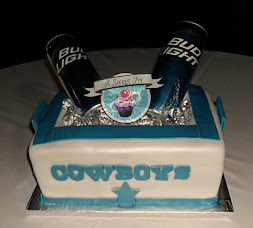 Beer Cooler Groom's Cake