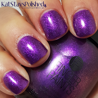 FingerPaints Once in a Wild - Amethyst Accent | Kat Stays Polished