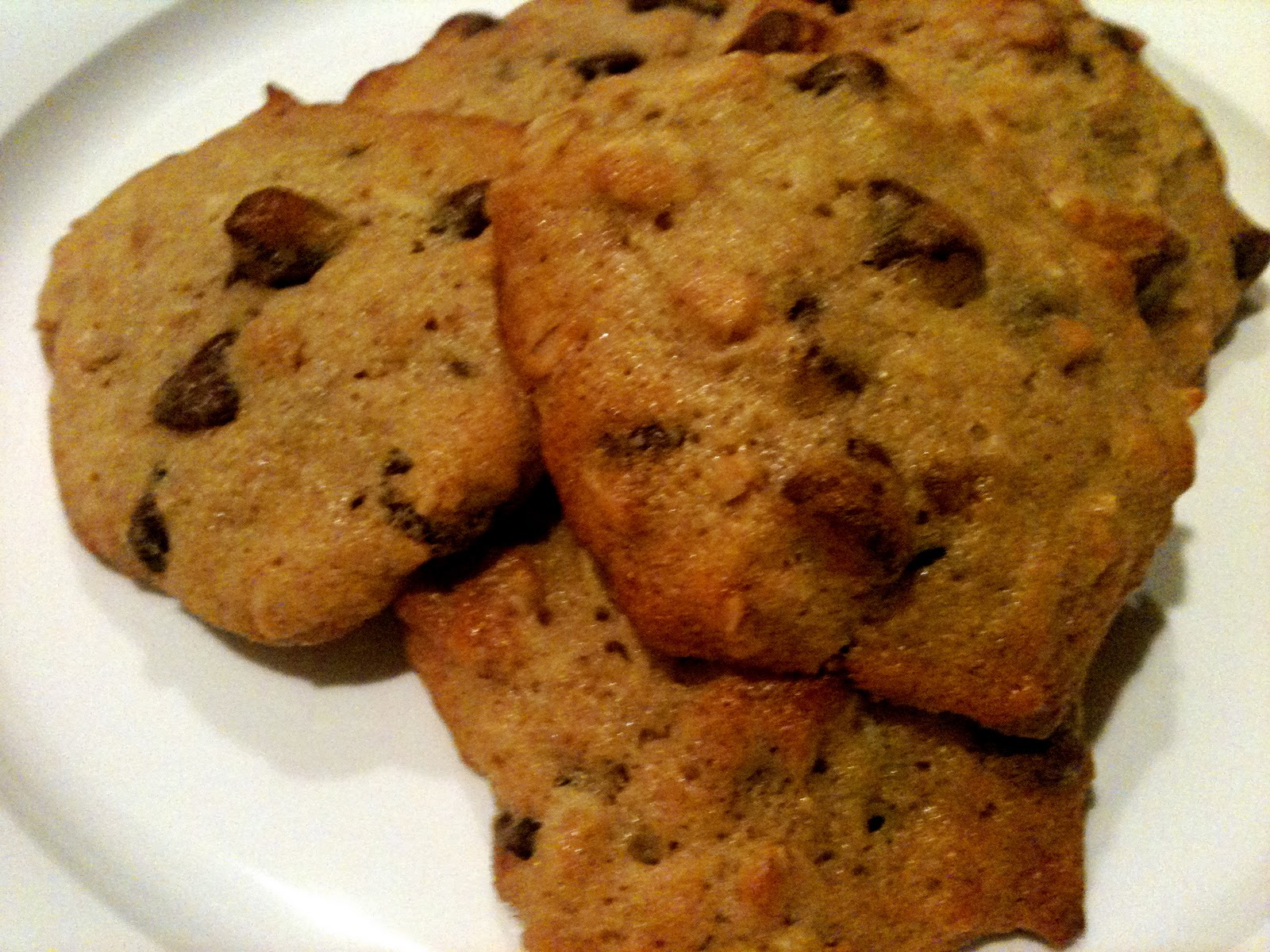 Cupcake Baking Machine: Banana Walnut Chocolate Chip Cookies