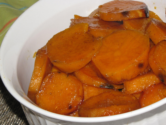 Pinch of Lime: Crock Pot Semi-Candied Sweet Potatoes