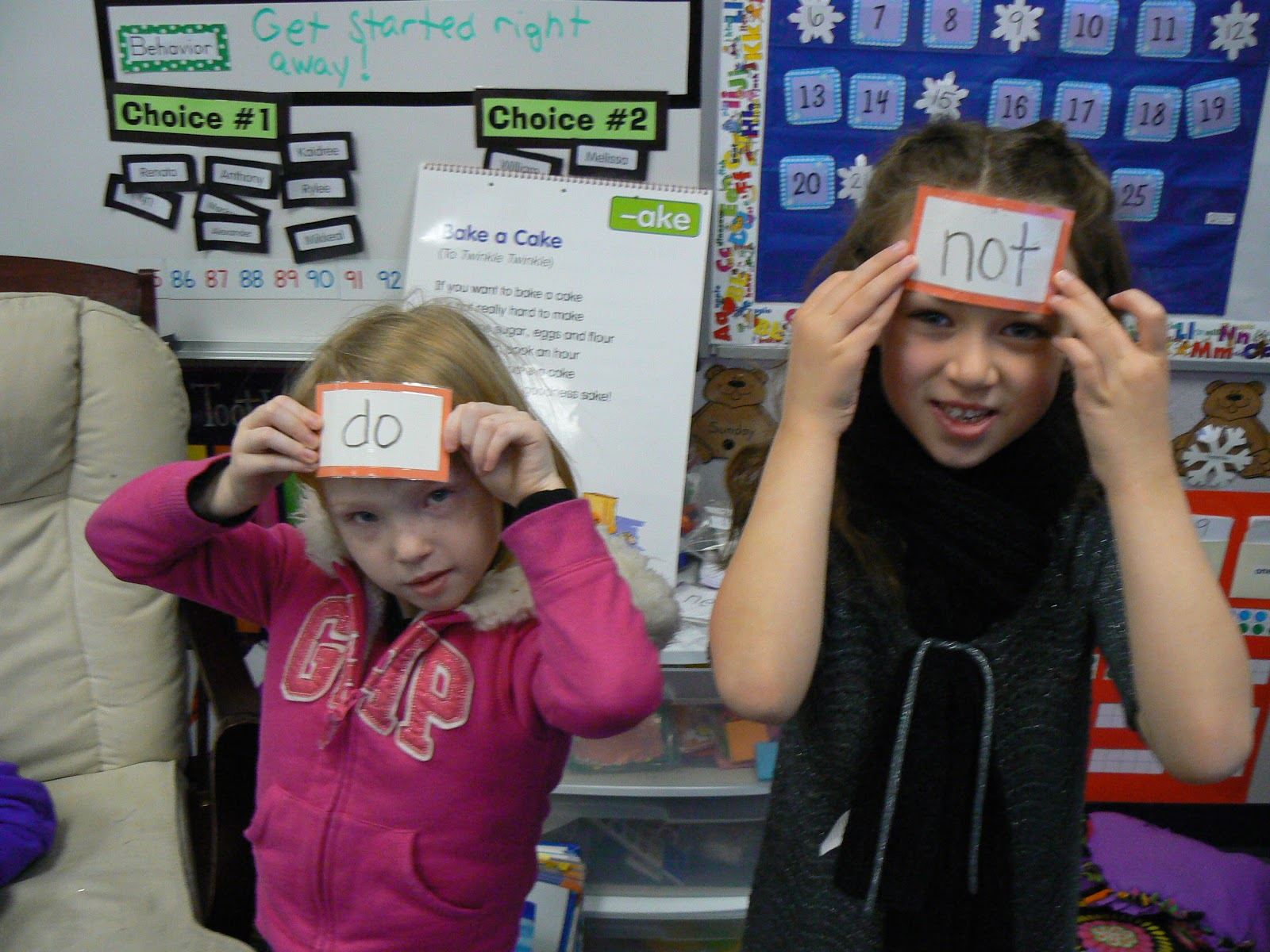 mrs t s first grade class contraction fun