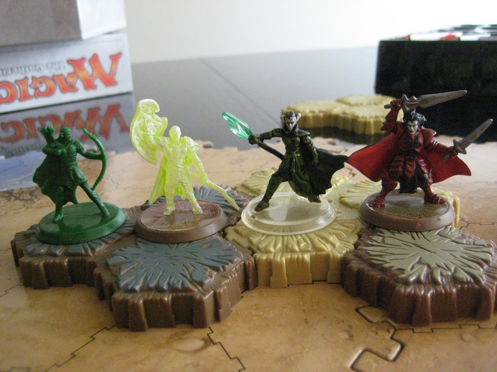 The Heroscape Blog: Magic the Gathering Arena of the ... Planeswalker Arena Miniatures Size