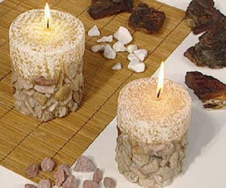 Decoracion de navidad con piedras for Decoracion con piedra