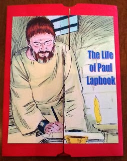 http://kidsbibledebjackson.blogspot.com/2012/10/life-of-paul-lapbook.html