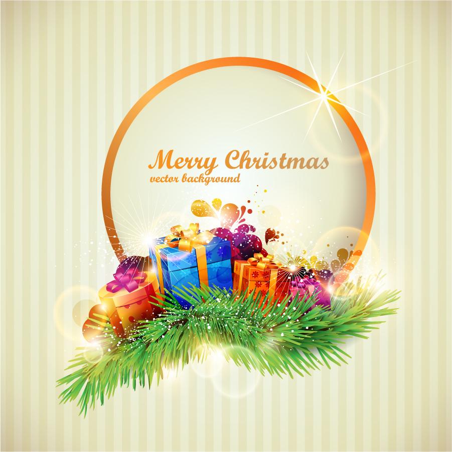 Bezierinfo beautiful christmas gift box negle Image collections