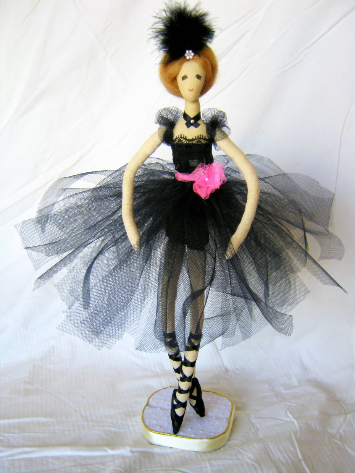 Как сшить куклу своими руками балерина