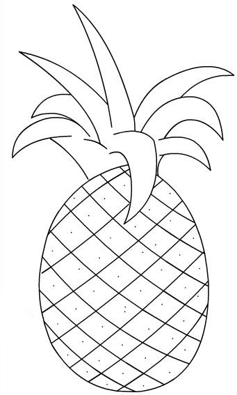 Desenhos de Frutas para Imprimir