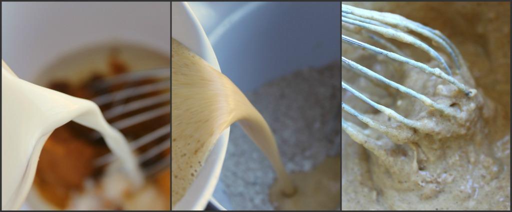 A Feast for the Eyes: Pumpkin-Cinnamon Streusel Pancakes