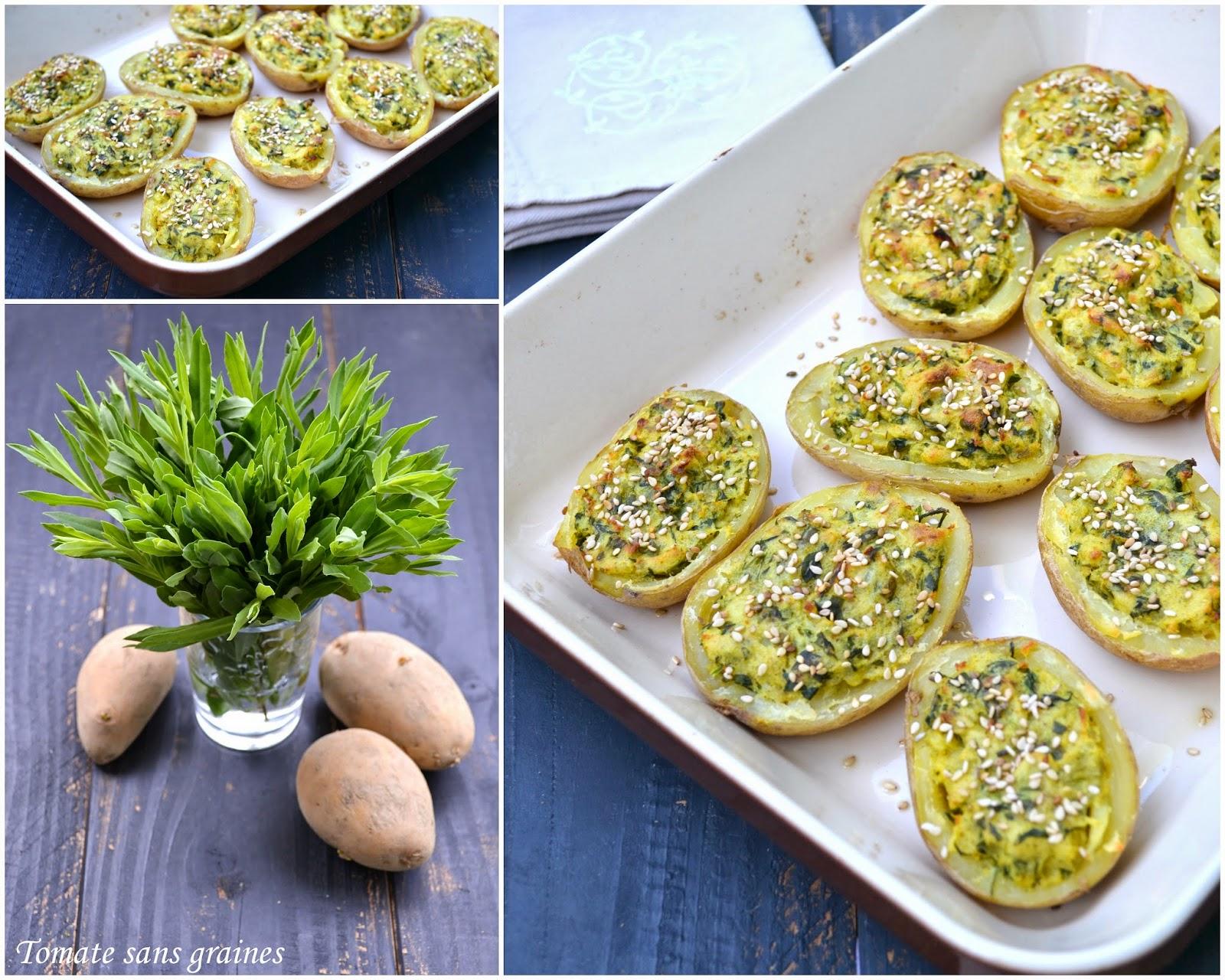 Tomate sans graines green lifestyle cuisine bien tre z ro d chet pommes de terre - Pomme de terre germee comestible ...