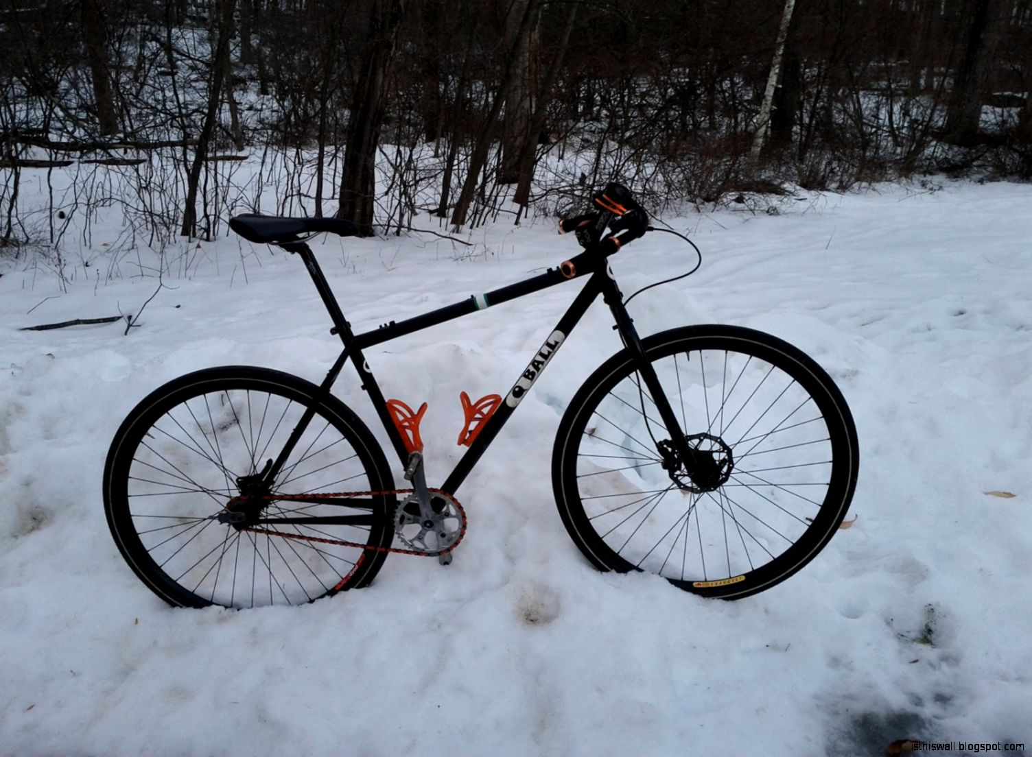 Cyclesnack My Fixed Gear Mountain Bike Commuter