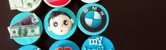 Picture of customize cupcakes