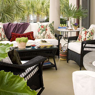 New Home Interior Design Beach Themed Outdoor Living