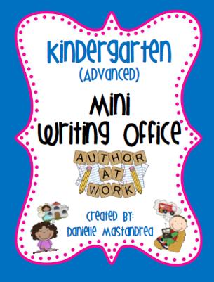 https://www.teacherspayteachers.com/Product/Kindergarten-Advanced-Mini-Writing-Office-264062