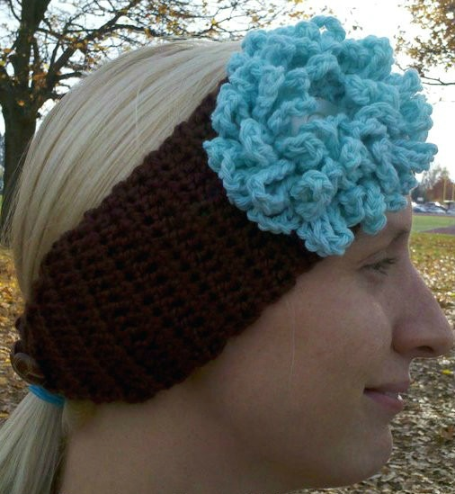 Domestic Bliss Squared Head Wrap Crochet Pattern Free ...