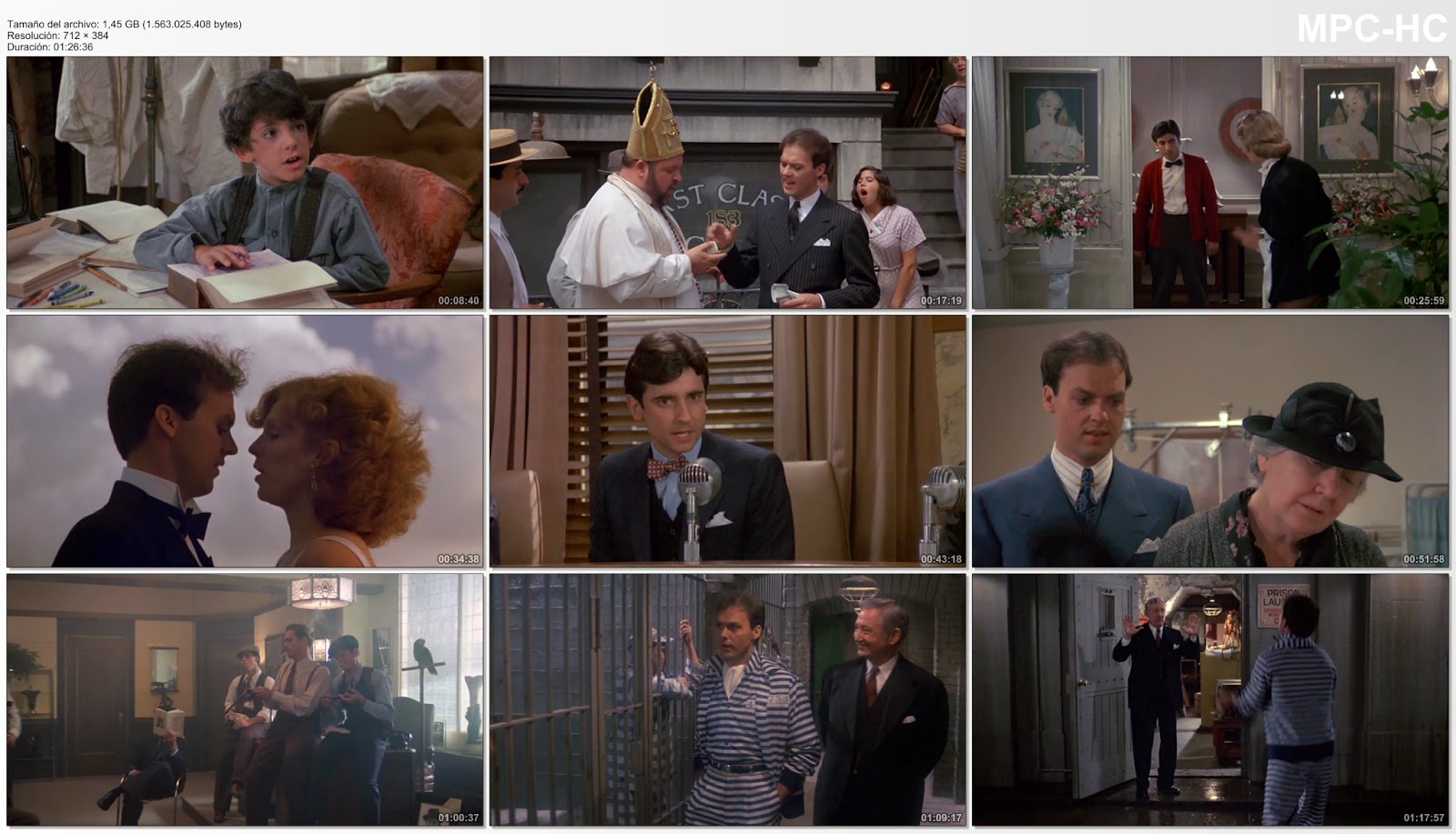 Capturas: Johnny peligroso (1984) (Johnny Dangerously)
