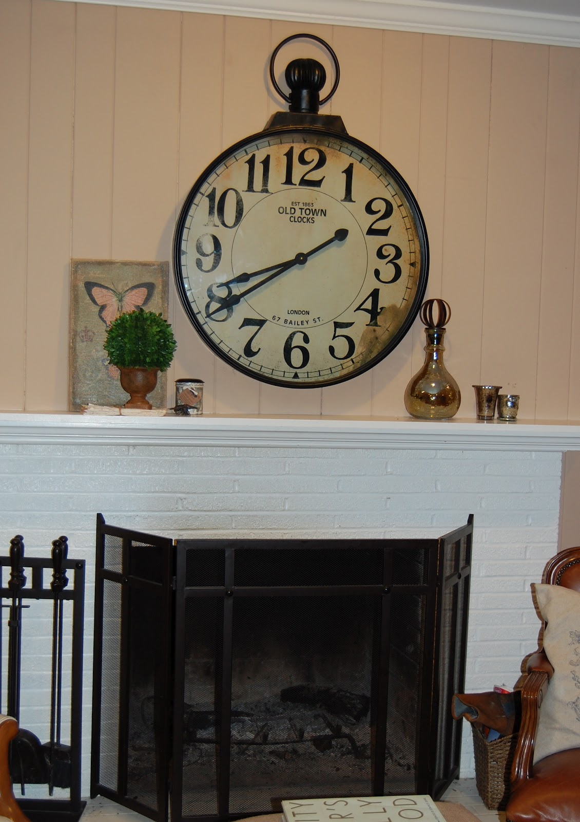 Wine taste girl over the mantel decor everyone that comes to my house comments on how it looks straight out of a magazine and they cant believe i got it at hobby lobby amipublicfo Gallery