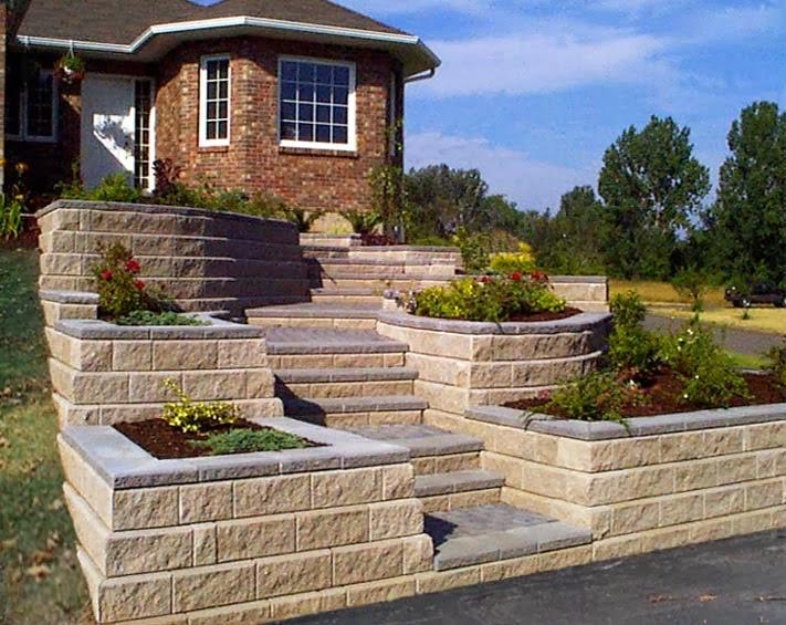 Sloped Landscaping Ideas For Front Yard Part - 46: Fantastic Sunset Landscape Ideas Sloped Hill Further Inspiration Article