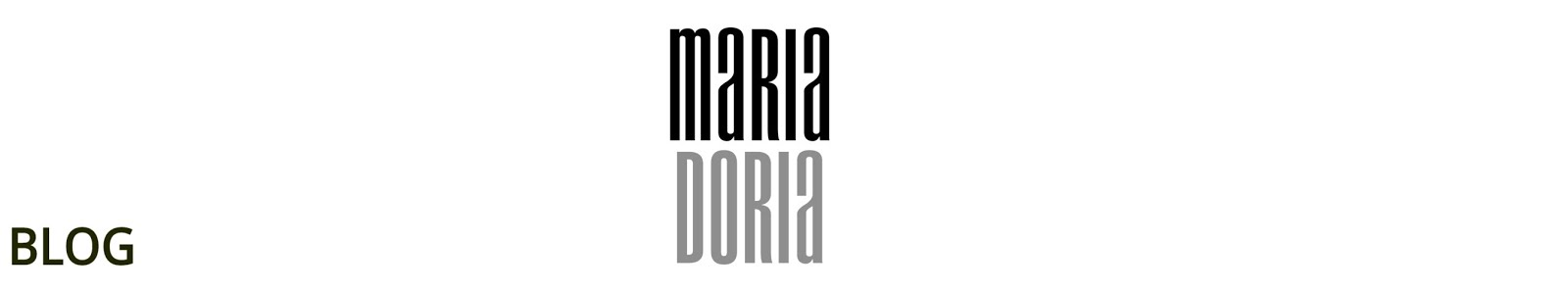 MARIA DORIA BLOG