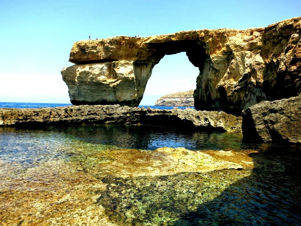 Azure Window at Gozo, Malta