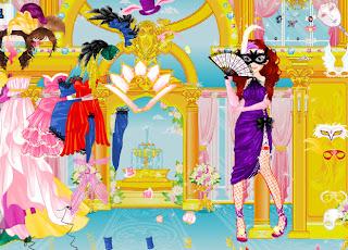 Juego de vestir para carnaval