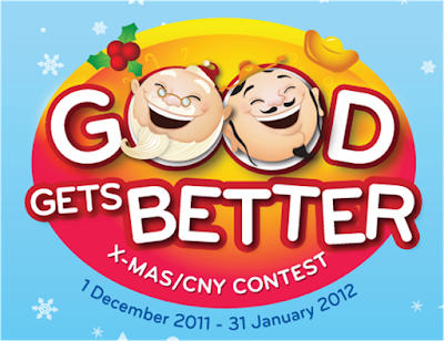 LG 'Good Gets Better X-Mas/CNY' Contest