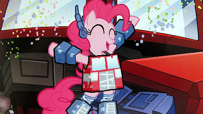 Pinkie Pie BotCon cover