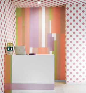 washi tape decoração na parede