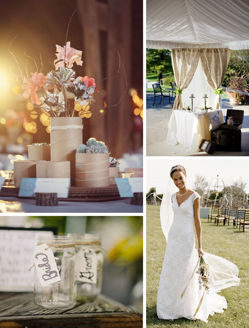 Wedding Inspiration 45 Rustic Shabby Chic