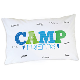 Dream On Camp Friends Pillowcase