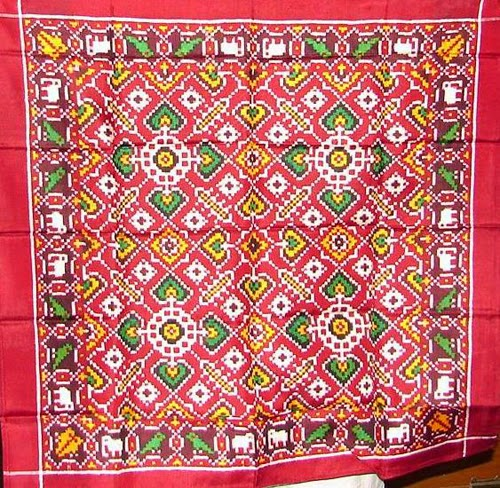 Patola Cloth of Pattan