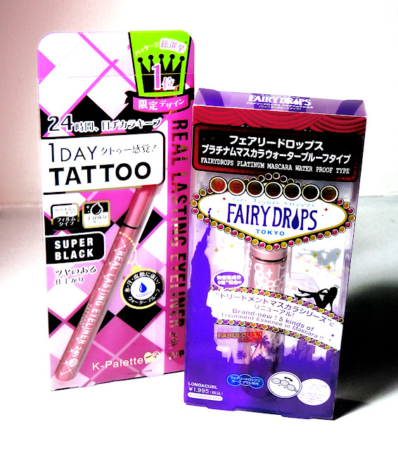 K-Palette Real Lasting Eyeliner FairyDrops Platinum Mascara Water Proof Type Beauty Bar