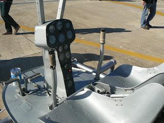 Cabina de comandament de l'helicòpter Aerotécnica AC-12 -de sobrenom, Pepo