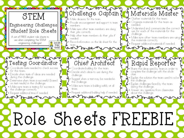 Classroom Design Challenge ~ Growing a stem classroom freebies