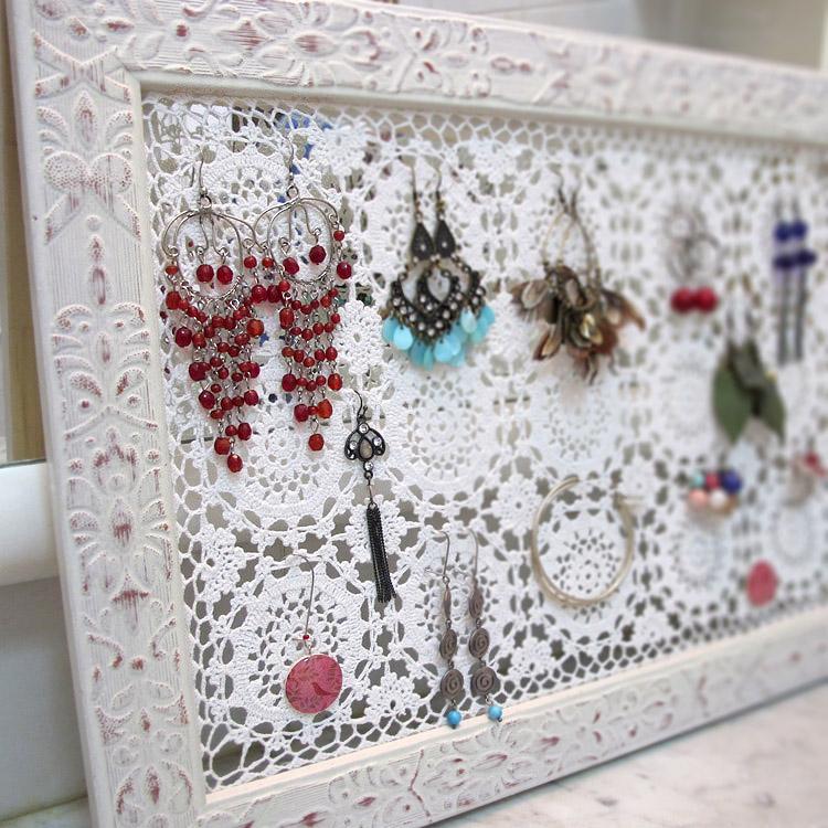 Katrinshine creative ways to organize your jewelry collection - Clever diy ways keep jewelry organized ...