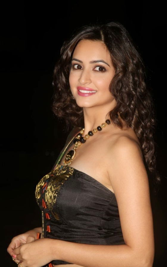 Kriti Kharbanda Unseen Photo In Black Dress Gallery