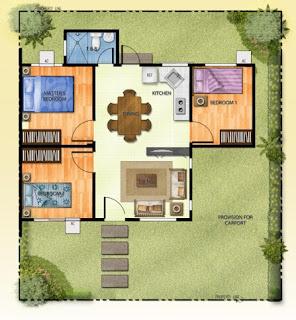 Villa Montserrat Taytay Walnut Floor Plan
