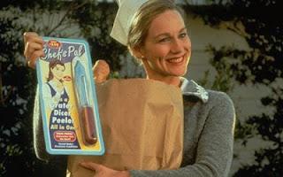 Meryl, esposa de Truman no filme O Show de Truman - O Show da Vida